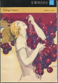 Vintage Posters. Public Sale 1866. August 2, 2000.