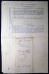 View Image 5 of 6 for 1862 Port of Philadelphia Manuscript & Printed Bill of Lading Entry of Merchandise Customs Duties fo... Inventory #25424