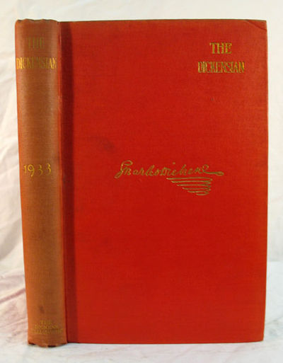 London: The Dickens Fellowship, 1933. 1st edition. Red cloth with gilt lettering & facsimile Dickens...