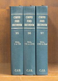 Corpus Juris Secundum Wills 1-end 3 books 2001 Vols. 95-97 w/2003 supp