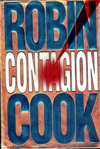 1995. COOK, Robin. CONTAGION. NY: Putnam, . 8vo., cloth & boards in dust jacket. First Edition, firs...