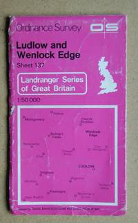 Ordnance Survey Map. Ludlow and Wenlock Edge. Sheet 137.