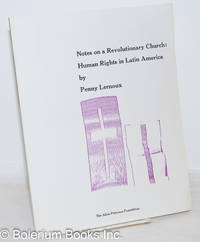 image of Notes on a revolutionary church; human rights in Latin America
