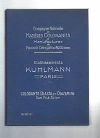 TEINTURE DU COTON EN COLORANTS AU SOUFRE.  Carte No.  10.