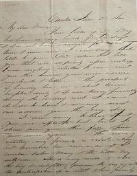 Autograph Letter Signed, June 25th, 1840 Canton, Michigan to his sister, Maria, Dummerston, Vermont, on the Election of 1840