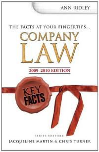 Key Facts: Company Law (Key Facts Law)