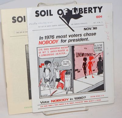 Minneapolis: Soil of Liberty, 1982. Two issues of the staplebound journal; 33 and 27 pages respectiv...