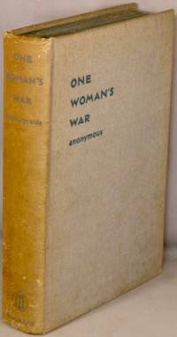 image of One Woman's War.