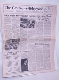 image of The Gay News-Telegraph: serving gay men_lesbians in the heart of America; vol. 3, #10, July 1984: Pride Week Successful in Region