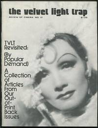 The Velvet Light Trap (No. 17, Winter 1977): TVLT Revisited (By Popular  Demand) [cover: Marlene Dietrich in THE DEVIL IS A WOMAN]