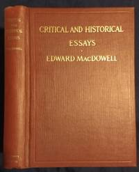 Critical and historical essays; lectures delivered at Columbia university 1912 [Hardcover]