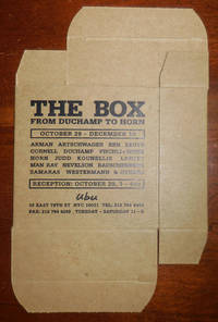 The Box From Duchamp To Horn (Exhibition Announcement Multiple)