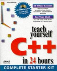 image of Sams Teach Yourself C++ in 24 Hours