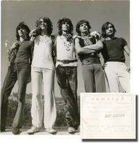 image of Two original photographs of The Rolling Stones with Mick Taylor, circa 1969-1974