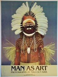 image of MAN AS ART Photographs By Malcolm Kirk: Promotional Poster