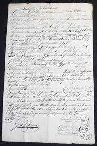 1802 Carter County, Tennessee, appeal bond [Brig. Gen. Nathaniel Taylor]