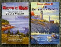image of MURDER IN MAINE: THE AVENGING OF NEVAH WRIGHT plus THE BUTTERFLY EFFECT - THE SEQUEL TO MURDER IN MAINE: THE AVENGING OF NEVAH WRIGHT.  2 VOLUMES.