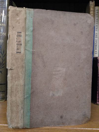 London: John Murray, 1828. First Edition. Hardcover. 8vo., 273 pages; G+; green cloth spine faded to...