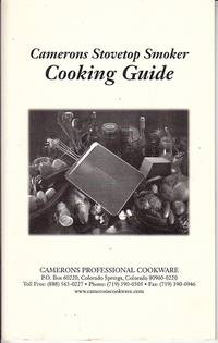 image of Camerons Stovetop Smoker Cooking Guide