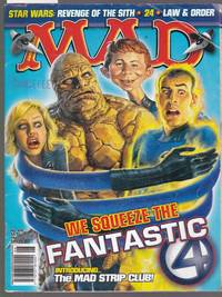 Mad Magazine - Australian Mad No.419 - We Squeeze the Fantastic 4