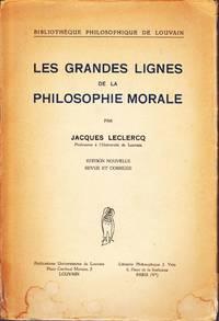 Les grandes lignes de la philosophie morale.