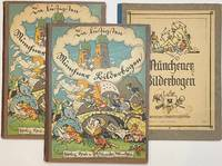 image of Die lustigsten Münchner Bilderbogen [two volumes, 9 and 10, together with Münchner Bilderbogen no. 51]