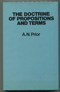 The Doctrine of Propositions and Terms