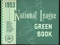1953 National League Green Book