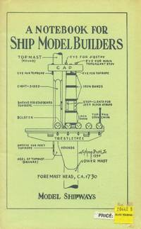 image of A Notebook for Ship Model Builders