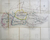 (Fox Hunting Map of) Sussex