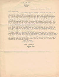 image of TYPED LETTER SIGNED.