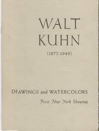 Walt Kuhn, 1877-1949