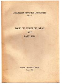 Folk Cultures of Japan and East Asia