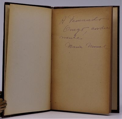 Santiago, Chile: Editorial Nascimento , 1922. RARE. SIGNED AND INSCRIBED BY AUTHOR at second front e...