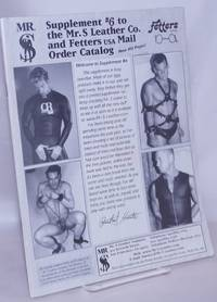 image of Supplement #6 to the Mr. S Leather Company, Fetters Mail Order Catalog