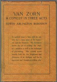 image of Van Zorn: A Comedy in Three Acts