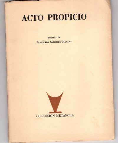 Mexico : Coleccion Metafora, 1958. First Edition. Softcover . Very good. Signed and inscribed by Fer...