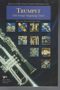 Full Range Fingering and Trill Chart (Foundations for Superior Performance, Trumpet)