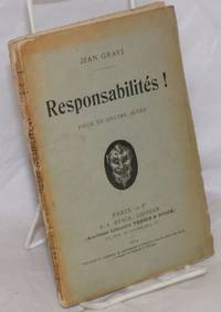 image of Responsabilités! Piéce en Quatre Actes