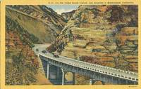 On the Bridge Route cut-off, Los Angeles to Bakersfield, California 1952 used Postcard