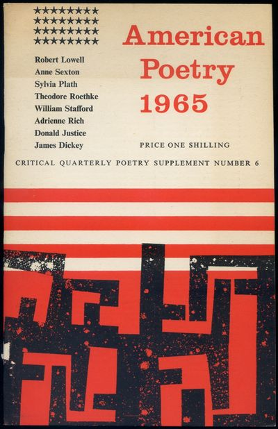 (England: Hull Printers Limited), 1965. Softcover. Near Fine. First edition. Stapled wrappers. 24pp....