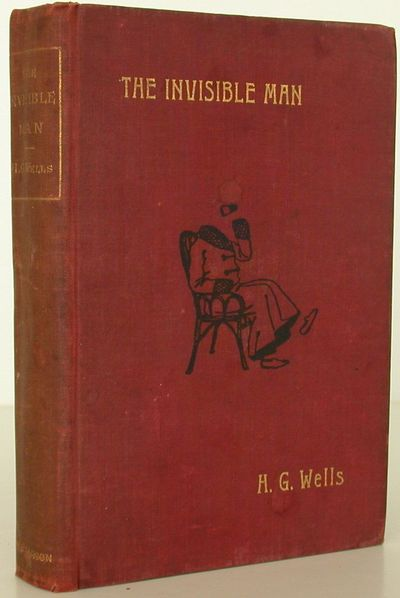 C. Arthur Pearson Ltd, 1897. 1st Edition. Hardcover. Very Good. FIRST EDITION of H.G. Wells' The inv...