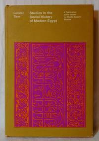 STUDIES IN THE SOCIAL HISTORY OF MODERN EGYPT
