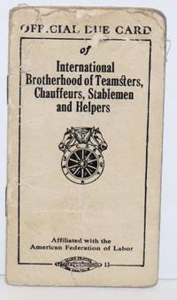 image of Official Due Card