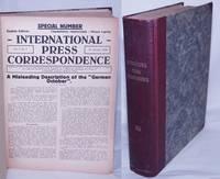 image of International Press Correspondence 1925  [Jan-Jun 1925]