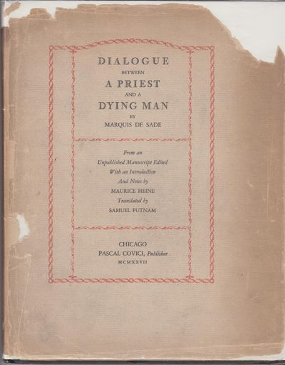 Chicago: Pascal Covici, Publisher. 1927. First Edition; First Printing. Hardcover. Near fine black c...