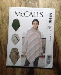 image of McCALL'S SEWING PATTERN: #M7846: MISSES PONCHOS