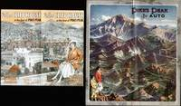 PIKES PEAK BY AUTO & THE CLIFF HOUSE AT THE FOOT OF PIKES PEAK 2  Pamphlets, Manitou Springs Colorado, Ca. 1920