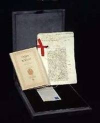 BURGOS LAWS AND DECREES (LEYES DE BURGOS) (Fine Facsimile Edition of 16th  C. Manuscript)