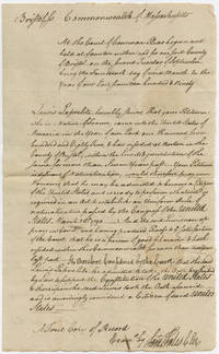 Very Early 1790s Naturalization Certificate for Famous French Physician – One the First Persons to Become an American Citizen Under the First Naturalization Act